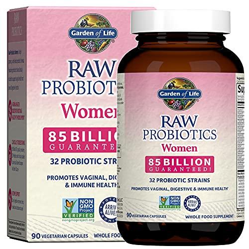 Garden Of Life Raw Probióticos para Mujeres 90 Cápsulas 180 g