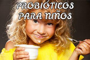Probióticos para niños más recomendados