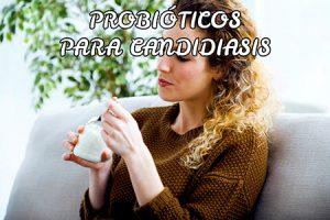 Probióticos para candidiasis