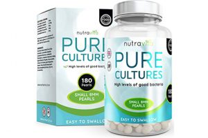 probiótico Pure Cultures Nutravita